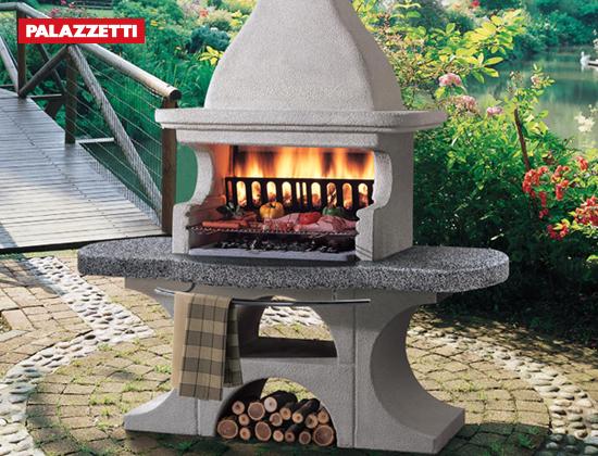 NEWPORT 2户外燃木壁炉
