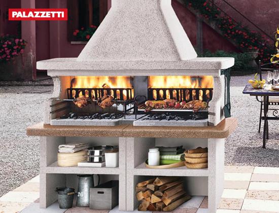 MIAMI 3户外燃木壁炉