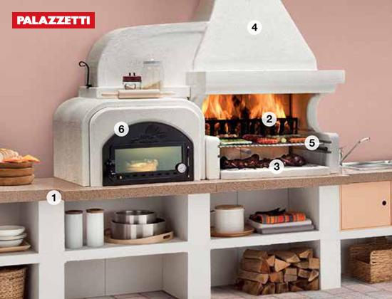 MALIIBU 2 户外燃木壁炉