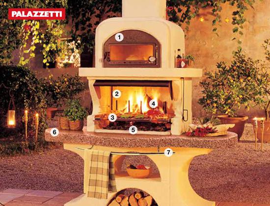 CAPRI 2户外燃木壁炉