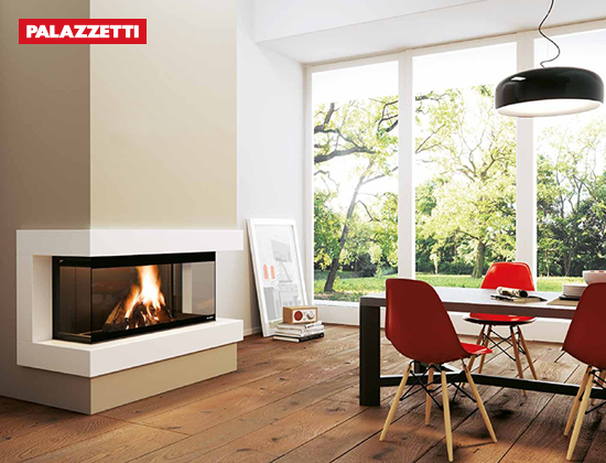 EMBL系列3D燃木壁炉