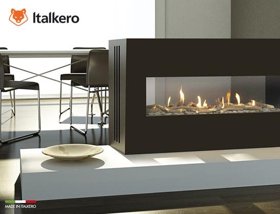 milano 80-130型燃气壁炉