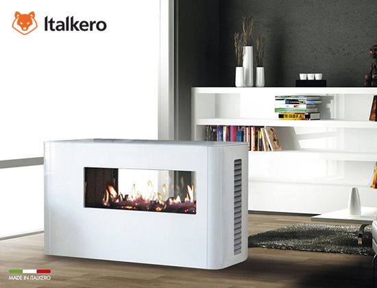 Milano fireplaces furniture燃气壁炉