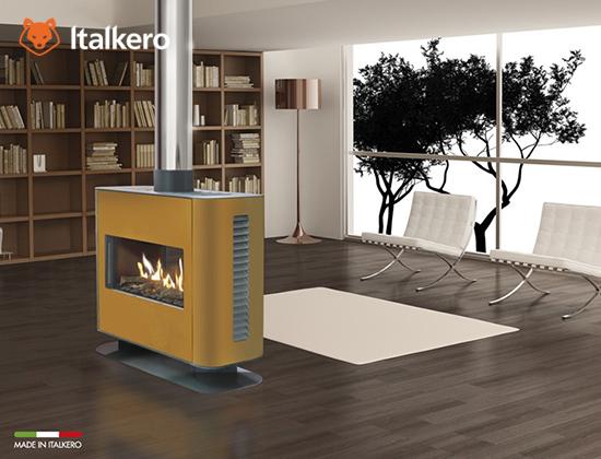Venezia 90 Furniture型燃气壁炉