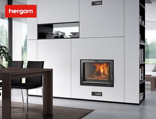 H03 系列嵌入式燃木壁炉