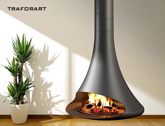 doria-中央款燃木壁炉