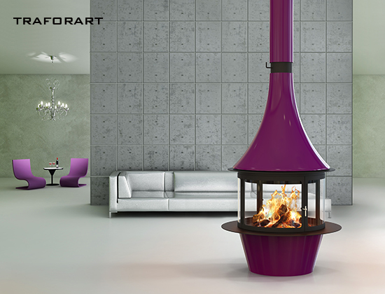 Lorena-中央款燃木壁炉